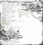 13@rts | Transparante sheet Vintage ornaments| 13 arts