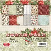 Craft & You | Paperstack 6 x 6 inch - North Pole