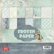 Craft & You   Paperpad 6 x 6 inch - Frozen Paper