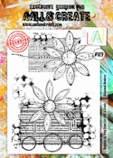 AALL & Create stempel nr 109 - Blossomed Numbers