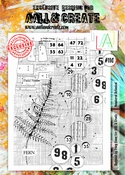 AALL & Create stempel nr 110 - Numbered Botanical