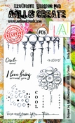 AALL & Create stempel nr 126 Circle Around