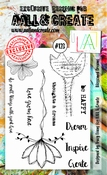 AALL & Create stempel nr 123 - Blossomed Dreams