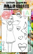 AALL & Create stempel nr 130 - Girlz with Haerts
