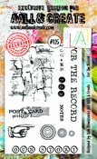 AALL & Create stempel nr 125 - For the Record