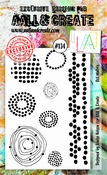 AALL & Create stempel nr 134 - Dot Matrix