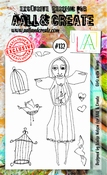 AALL & Create stempel nr 132 - Girlz with wings