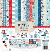 Echo Park Collection Kit Celebrate Winter  12x 12 inch