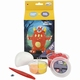 Easy kit Foamclay + Silk Clay Ugly Monsters Rood