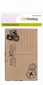 clearstamps A6 - achtergrond Briefkaart