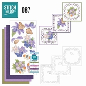 Stitch and Do 87 Purple Flowers