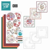 Stitch and Do 88 Christmas Florals