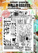 AALL & Create stempel nr 111 - English Postcard