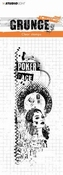 Clear Stamp Grunge Collection nr 344 Poker Face