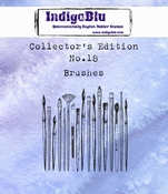 IndigoBlu stempel Collector's Edition 18 Brushes