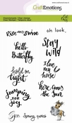 CraftEmotions stempel A6 | Carla Creaties | Sjors Quotes