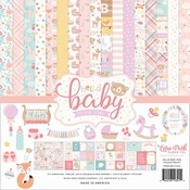 Echo Park Collection Kit Hello Baby Girl