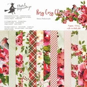P13 | Paperpad Rosy Cosy Christmas 12 x 12 inch