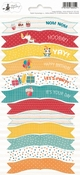 P13 | Party Sticker 1 Happy Birthday - sheets 10,5 x 23 cm