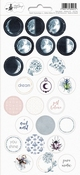 P13 | Stickers New Moon nummer 3 - sheets 10,5 x 23 cm
