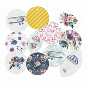 P13| Decorative Tags When we first met| 11 stuks | rond ± 1,