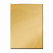 Spiegelkarton Honey Gold Satin | 5 vel