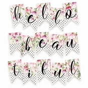 Piatek Paper Die-Cut Garland Hello Beautiful
