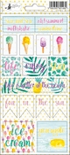 P13 | Stickers Summertime 02 - sheets 10,5 x 23 cm
