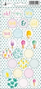 P13 | Stickers Summertime 03 - sheets 10,5 x 23 cm