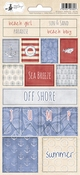 P13 | Stickers  Off Shore II nr. 02 - sheets 10,5 x 23 cm