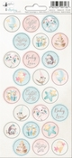 P13 | Stickers  Cute & Co 03 - sheets 10,5 x 23 cm