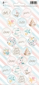 P13 | Party Sticker 2  Cute & Co  - sheets 10,5 x 23 cm