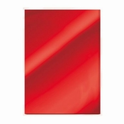 Spiegelkarton Ruby red Glans | 5 vel