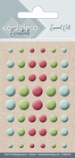 Card Deco Essentials-Enamel Dots Blue Green and Red