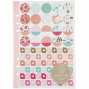Art Journal | Stickerboek A5 150 x 210 mm | Roze