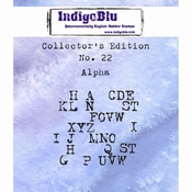 IndigoBlu stempel Collector's Edition 22 Alpha