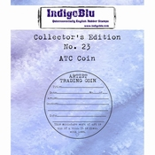 IndigoBlu stempel Collector's Edition 23 ATC Coin