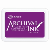 Archival Ink Deep Purple