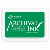 Archival Ink Emerald Green