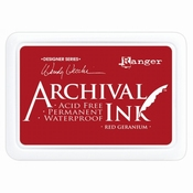 Archival Ink Red Geranium
