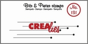 Crealies stempel Bits & Pieces no. 131