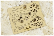 SnipArt | MDF Sleutels | Romantic Key