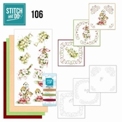 Stitch and Do 106 - Pink Spring Flowers