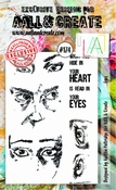AALL & Create stempel nr 174 - Eyes