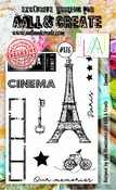 AALL & Create stempel nr 176 - Cinema
