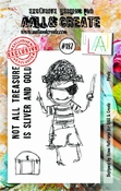 AALL & Create stempel nr 187 - Pirate