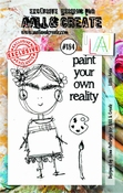 AALL & Create stempel nr 184 - Little Frida