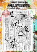 AALL & Create stempel nr 160 - Pencilled Flower