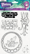 Studio Light clear stempel A5 Fairy Fantasy Collection nr.37