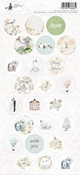 P13 | Stickers Truly Yours nummer 3 - sheets 10,5 x 23 cm